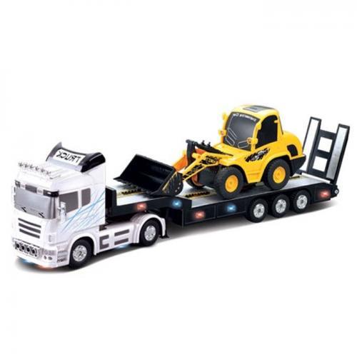 Радиоуправляемый грузовик с трактором 1:20 (56 см)