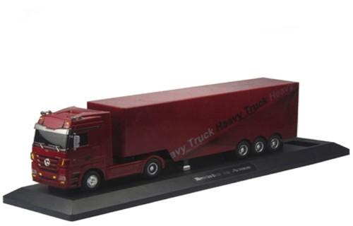 Радиоуправляемый грузовик Мерседес красный