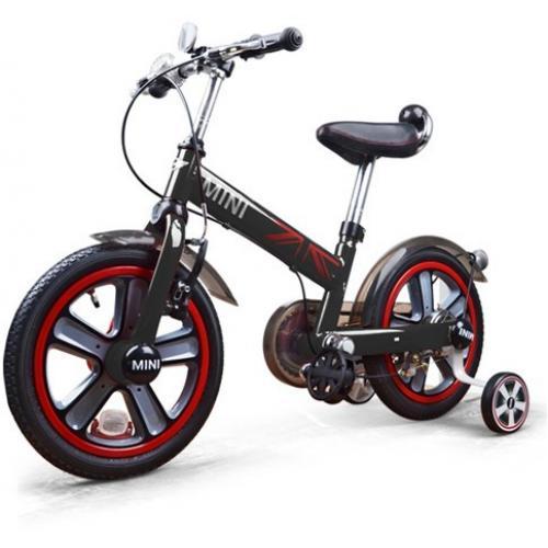 """Детский велосипед 14"""" двухколесный Rastar (черный, от 3 лет, 96 см, звонок, лицензия BMW)"""