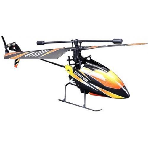 Вертолет на радиоуправлении WL toys 4CH 2.4G (профи, 22 см, до 60 м, 2 аккум.)