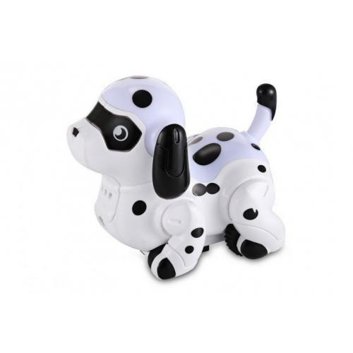 Робот щенок (сенсор, движется по линии, свет, звук)