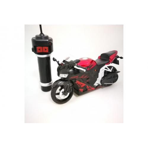 Радиоуправляемый мотоцикл с гиростабилизацией