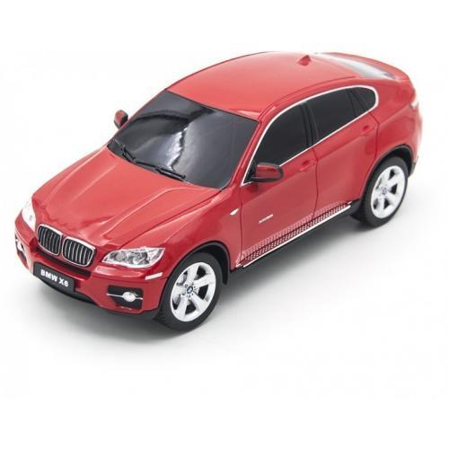 Радиоуправляемая машина BMW X6 красная 1:24