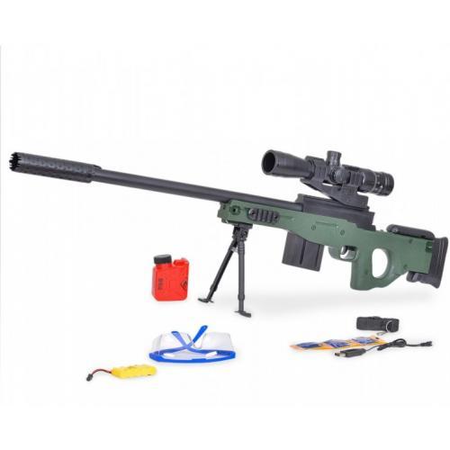 Винтовка M96 с гелевыми пулями (105см, на аккумуляторе)