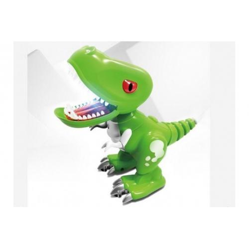 Радиоуправляемый динозаврик - звук, свет
