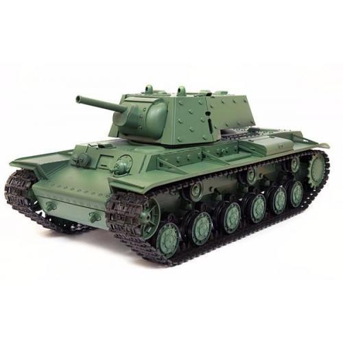 Радиоуправляемый танк Heng Long Russia КВ-1 1:16 (ИК+Пневмо) 2.4G - 3878-1 V6.0