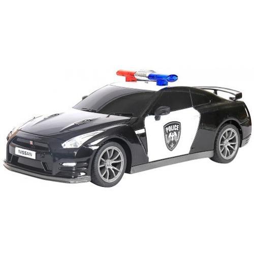 Радиоуправляемая машина Nissan Полиция (с мигалками) 1:20