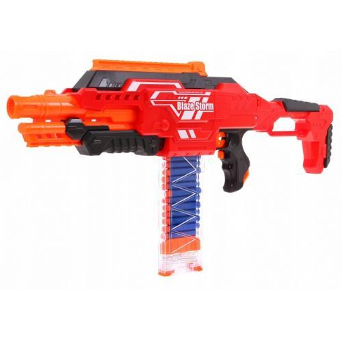 """Автомат с мягкими пулями на батарейках """"BlazeStorm"""""""