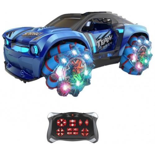 """Радиоуправляемая машина ZeGan """"Сrazy Drift"""" 1:16, синий"""