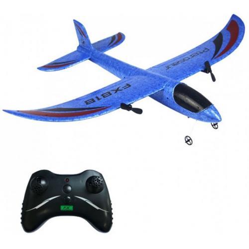 Радиоуправляемый самолет планер Blue Pterosaur