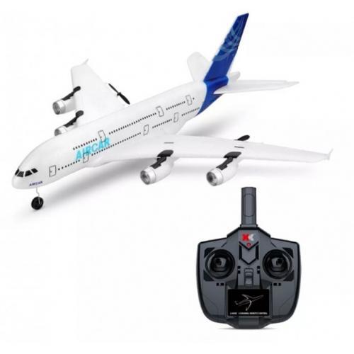 Радиоуправляемый самолет A380 XK A120 2.4G RTF