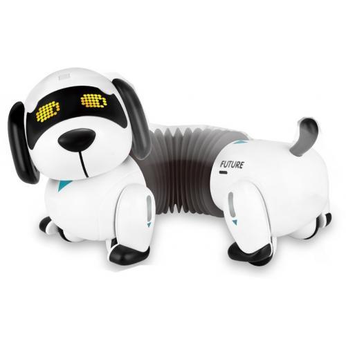 Интерактивный робот Собачка Такса (пульт с датчиком)