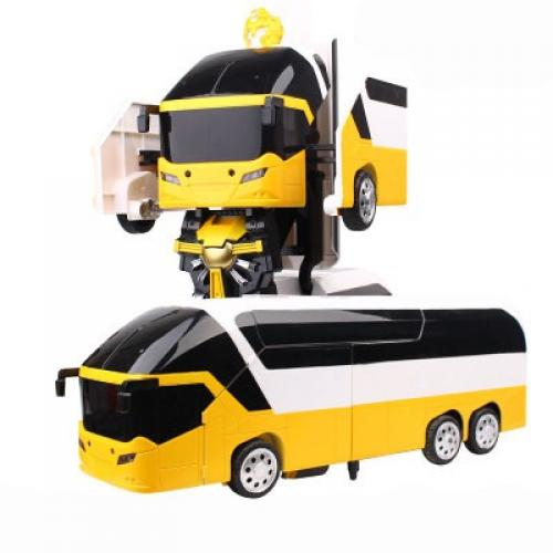 Радиоуправляемый робот трансформер Автобус (длина 35 см)