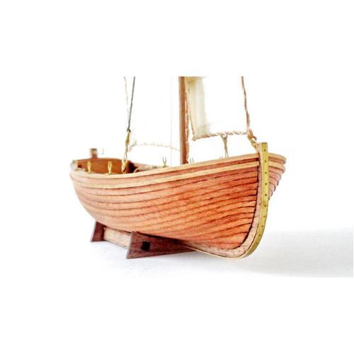 Сборная деревянная модель Парусно-гребной ЯЛ-6 1:36