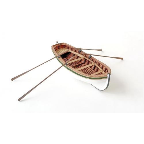 Сборная деревянная модель Четырехвесельная шлюпка 1:36