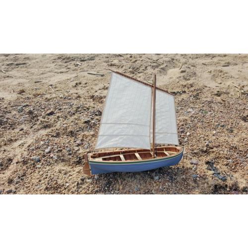Сборная деревянная модель Парусно-гребной ЯЛ-6 1:24