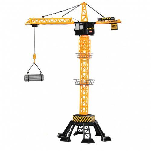 Радиоуправляемый башенный кран (88 см, свет, звук)
