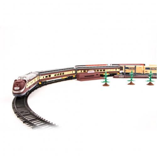 Железная дорога детская, длина трека 3 метра
