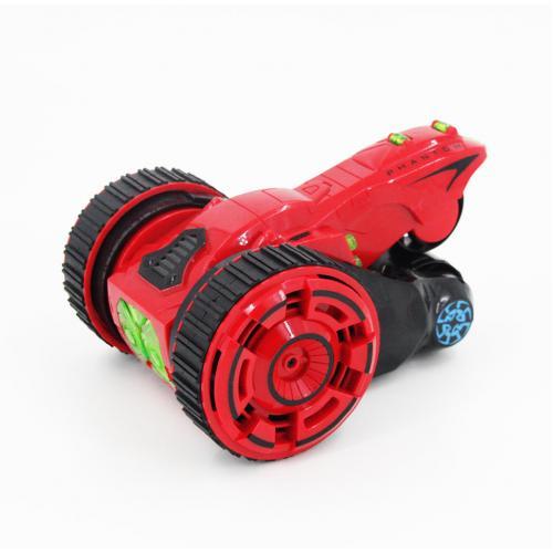 Радиоуправляемая модель машины трюковая Перевертыш 604, красная