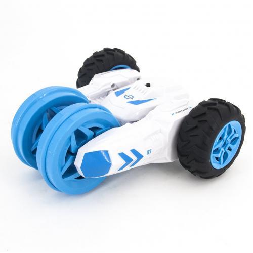Радиоуправляемая модель машины Перевертыш Fancy Stunt цвет белый