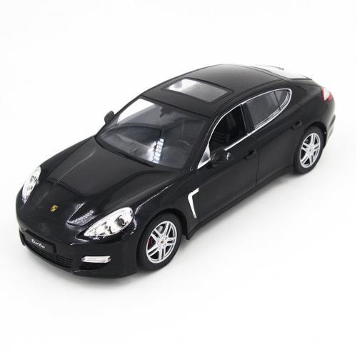 Радиоуправляемая модель машины Porsche Panamera цвет черный 1:14 (34 см)