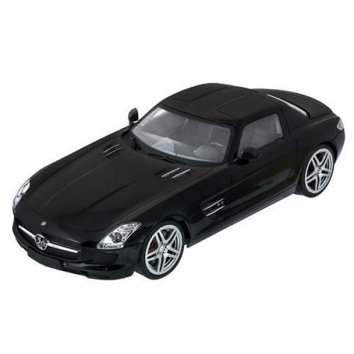 Радиоуправляемая модель машины Мерседес цвет черный 1:14 (34 см)