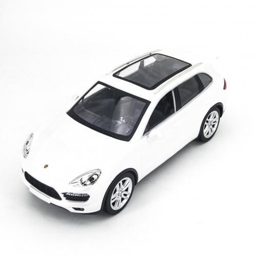 Радиоуправляемая модель машины Porsche Cayenne цвет белый 1:14 (34 см)