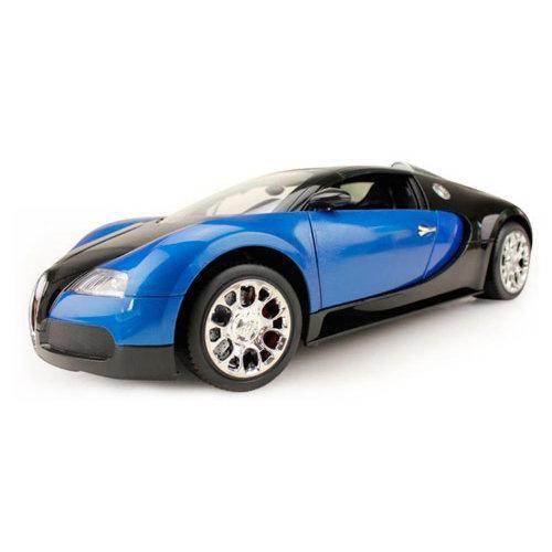 Радиоуправляемая модель машины Бугатти цвет синий 1:10 (44 см)