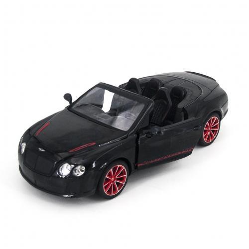 Радиоуправляемая модель машины Бентли, черная 1:14 (34 см), открыв. двери