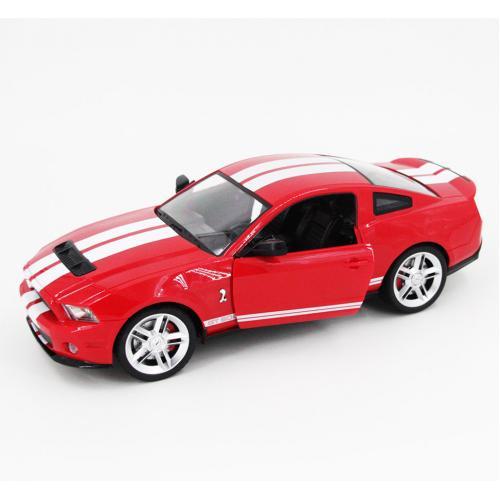 Радиоуправляемая модель машины Ford Mustang GT500, красный 1:14 (34 см)
