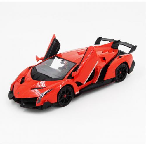 Радиоуправляемая модель машины Lamborghini Veneno, оранжевый 1:14 (34 см)