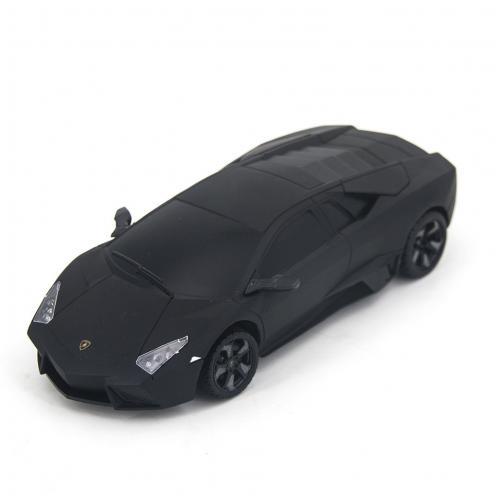 Радиоуправляемая машинка Lamborghini цвет черный 1:24 (18 см, мини)