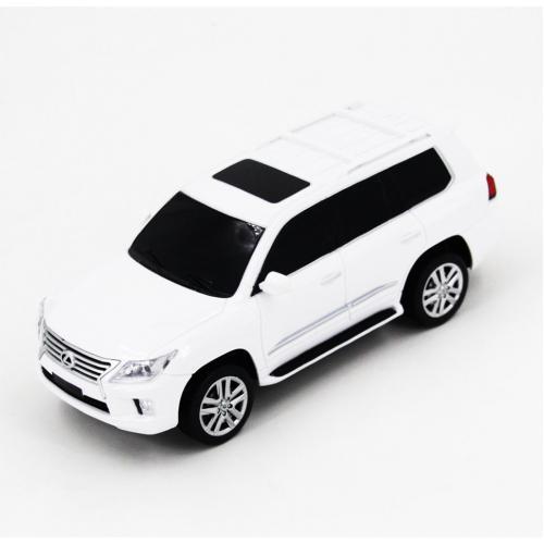Радиоуправляемая машинка Lexus LX570 цвет белый 1:24 (18 см, мини)