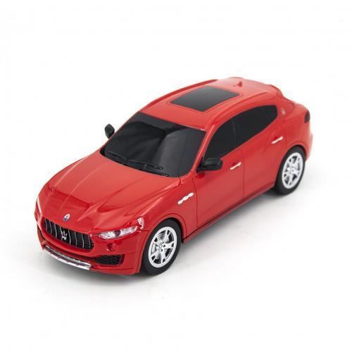 Радиоуправляемая машинка Maserati Levante цвет красный 1:24 (18 см, мини)