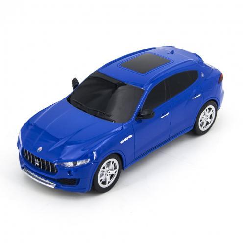 Радиоуправляемая машинка Maserati Levante цвет синий 1:24 (18 см, мини)
