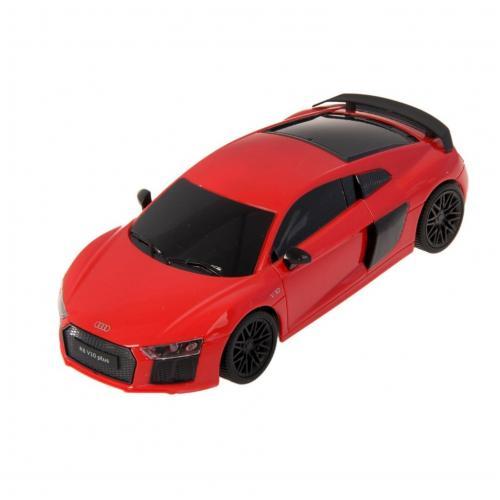Радиоуправляемая машинка Audi R8 цвет красный 1:24 (18 см, мини)
