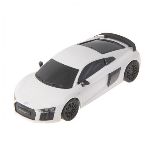 Радиоуправляемая машинка Audi R8 цвет белый 1:24 (18 см, мини)