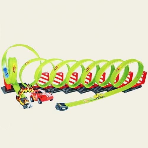 Детский пусковой трек Track Racing, длина трека 650 см