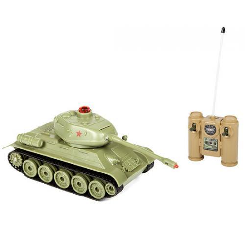 Танк на радиоуправлении для танкового боя Zegan T34 40 Mhz