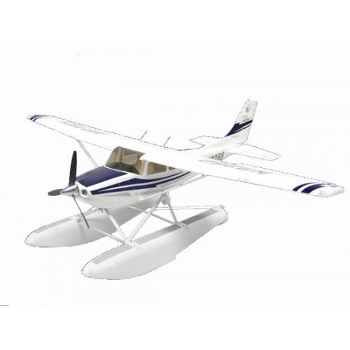 Радиоуправляемый самолет Art-tech Cessna 182 400 Class с лыжами 2.4G - 2101Y