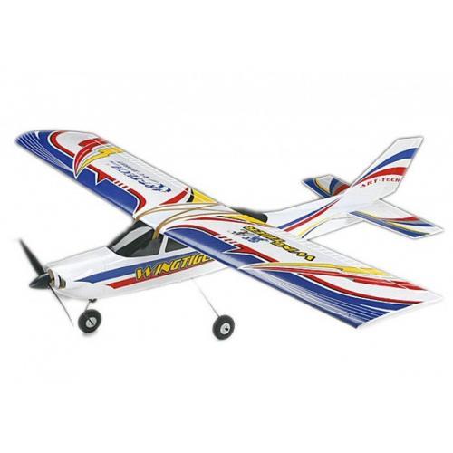 Радиоуправляемый самолет Art-Tech Wing-Tiger V3 EPO RTF 2.4G с автопилотом - 2120F