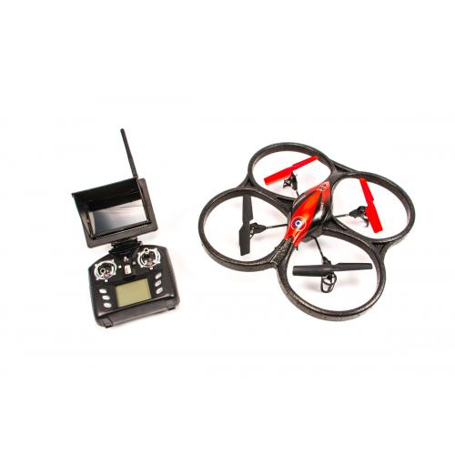 Квадрокоптер с камерой WL Toys FPV (видео на пульт, 40 см)
