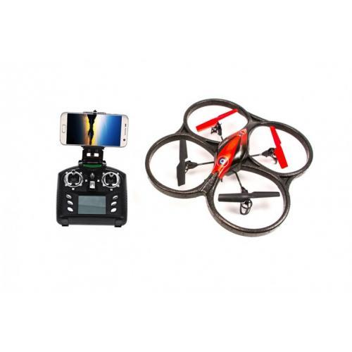 Квадрокоптер с камерой WL Toys Wi-Fi FPV (видео на смартфон, 40 см)