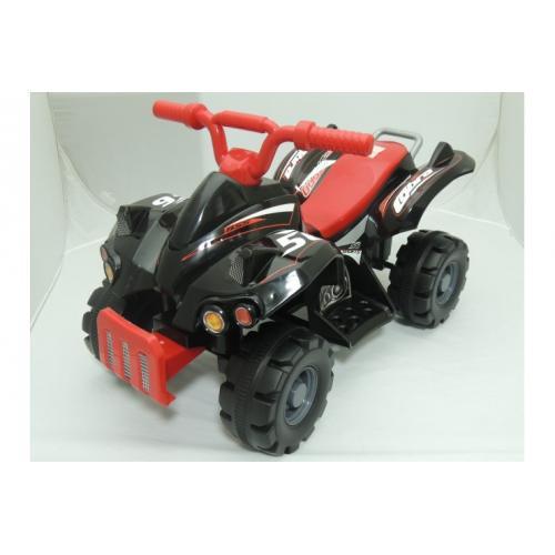 Электроквадроцикл для детей JJ черно-красный
