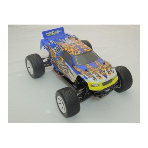 Модель внедорожника на радиоуправлении Truggy Tribeshead 4WD 1:10, быстрая 41101
