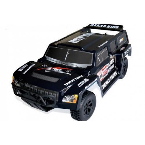 Модель внедорожника на радиоуправлении Trophy Truck DAKAR H100 4WD