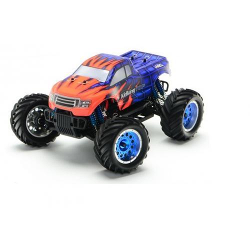 Модель внедорожника на радиоуправлении KidKing TOP 4WD 1:16