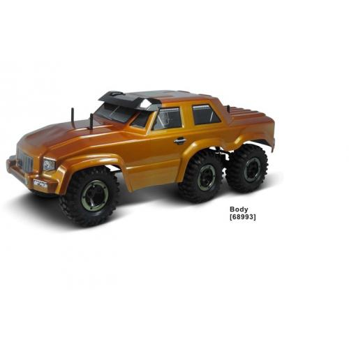 Машина краулер на радиоуправлении 6 колес HSP 6WD 1:16 2.4G, 68993