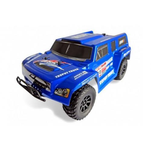 Модель внедорожника радиоуправляемая 4WD EP Off-Road Trophy Truck 1:18