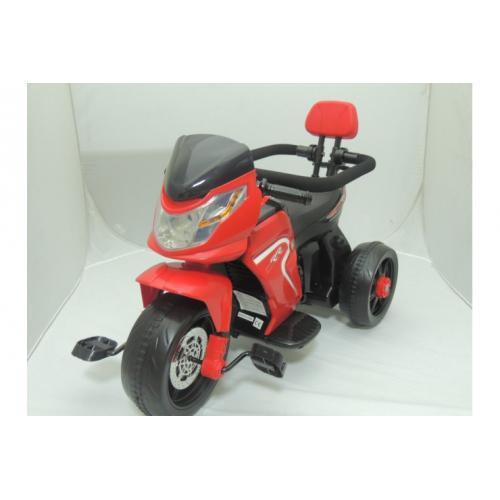 Электромотоцикл для детей JJ, красный